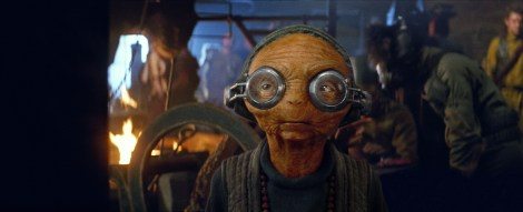 Maz Kanata Official Photo from Lucasfilm Star Wars The Force Awakens Hi Res